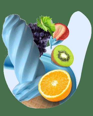 Conheça o nosso Sorvete sabor tutti-fruti
