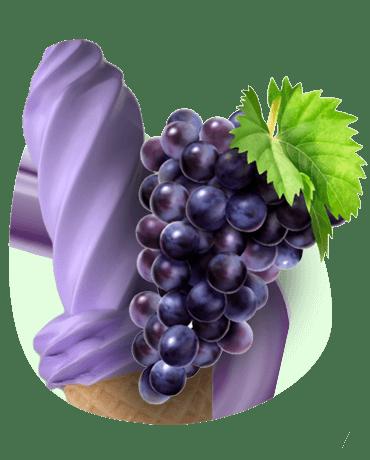 Conheça o nosso Sorvete sabor uva